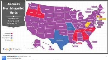 Woody Johnson - The Most Commonly Misspelled Words in Every State Are Hilarious