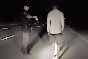 Tiger Woods Staggers, Stumbles in Dashcam Video