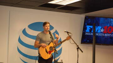 FM106.1 AT&T Access Granted Lounge - Walker Hayes in the FM106.1 AT&T Access Granted Lounge - 6/1/17