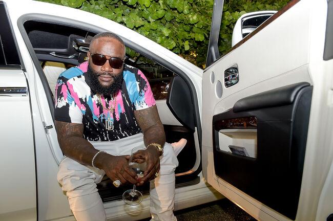 Haute Living Celebrates Rick Ross at Marion Miami