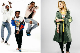 Migos & Julia Michaels Join Daytime Village Presented by Capital One