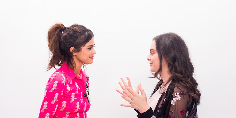 Watch Selena Gomez Face Off Against A Selenator On Trivia About Herself (VIDEO)