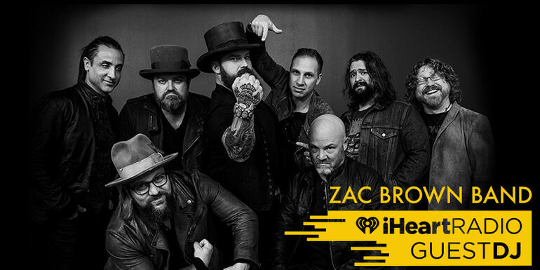 Zac Brown Band's Guest DJ Station: Foo Fighters, Adele, Luke Bryan & More