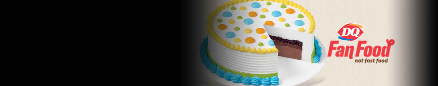 Win a Birthday Ice Cream Cake from DQ - Enter here