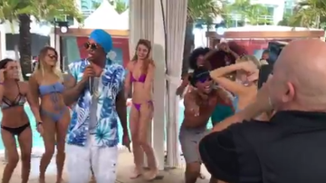 iHeartRadio Summer Pool Party - Watch Nick Cannon Lead A Dance-Off During iHeartSummer '17 Weekend By AT&T