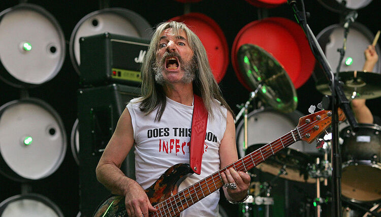 Harry Shearer of music band Spinal Tap p