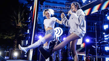 iHeartRadio Summer Pool Party - Noah Cyrus Dances With Miley, Covers The Weeknd in Miami