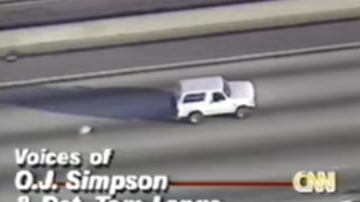 Lance McAlister - Watch this date 1994: O.J. and the Bronco chase