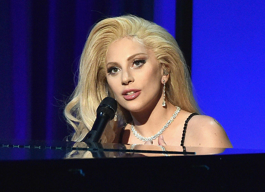 CENTURY CITY, CA - JANUARY 23:  Actress/recording artist Lady Gaga performs onstage at the 27th Annual Producers Guild Of America Awards at the Hyatt Regency Century Plaza on January 23, 2016 in Century City, California.  (Photo by Kevin Winter/Getty Images)