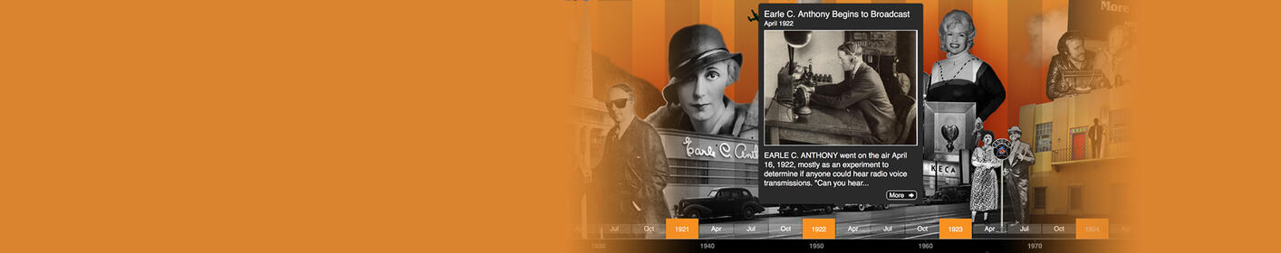 Journey through the history of KFI in our interactive online museum!