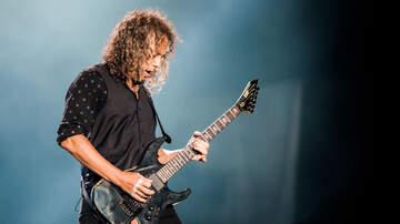 Ayo - Metallica's Kirk Hammett slipped on his Wah-Wah Pedal. Oops.