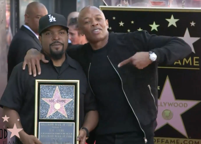 Ice Cube Hollywood Walk of Fame