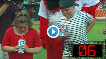Woody Johnson - No Matter the Cost, This Kid Was Determined To Win His ICEE Chugging Contest