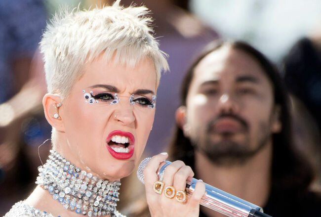 ENTERTAINMENT-US-MUSIC-YOUTUBE-KATY PERRY