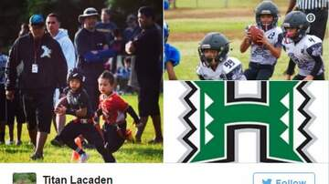 Woody Johnson - University of Hawaii Just Offered a Fifth Grader A Football Scholarship