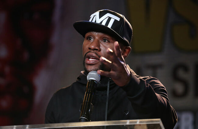 Floyd Mayweather v Andre Berto - Press Conference