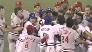 Lance McAlister - Watch: Soto, Reds, Braves brawl this date '84