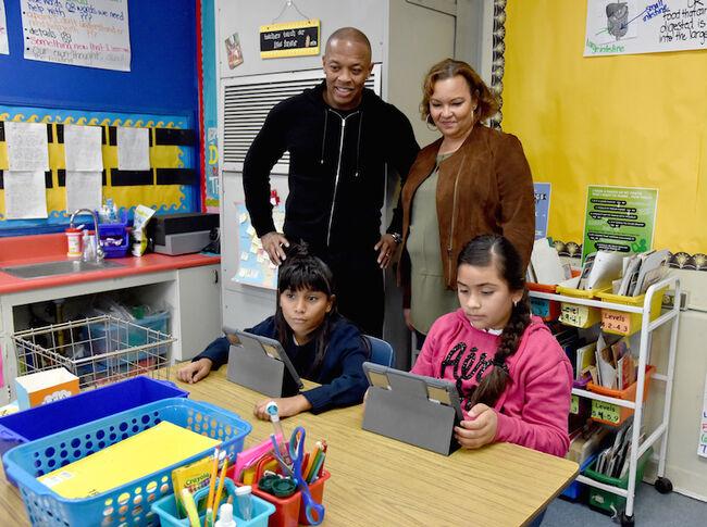 Apple Invests in Compton's Schools