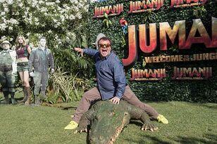 Hoody Met Jack Black and Had the New Jumanji Spoiled to Him!