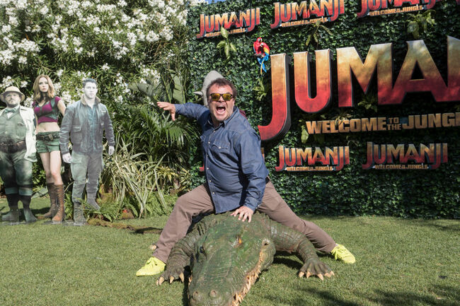 "Barcelona Photo Call - ""JUMANJI: WELCOME TO THE JUNGLE"""