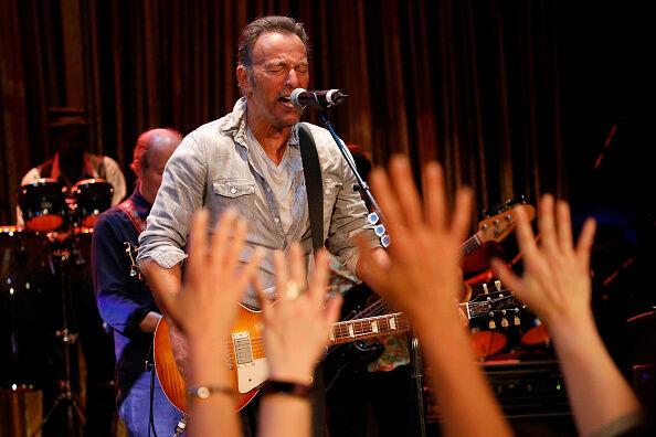 Bruce Springsteen In Concert - Asbury Park, New Jersey