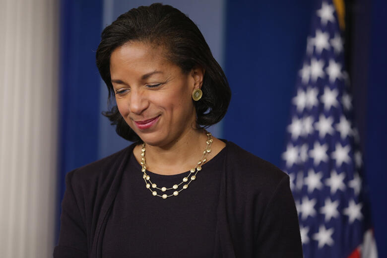 National Security Advisor Susan Rice Holds Briefing On Obama's Trip To Asia