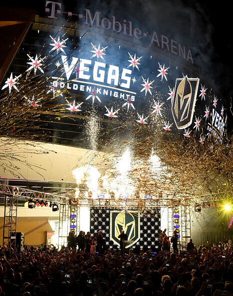 Las Vegas NHL Franchise Reveals Team Name And Logo