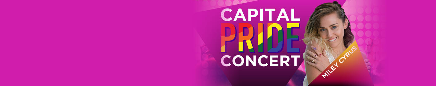 Check out the fun we had with Miley Cyrus at Capital Pride!