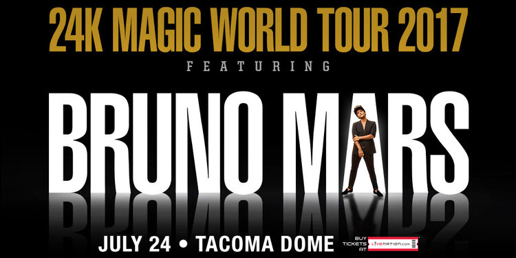 Bruno Mars Tacoma Dome