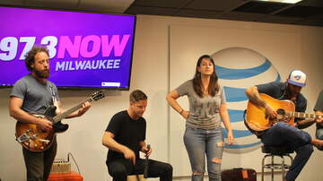 97-3 NOW AT&T Access Granted Lounge - The Strumbellas in the Lounge - 6/19/16