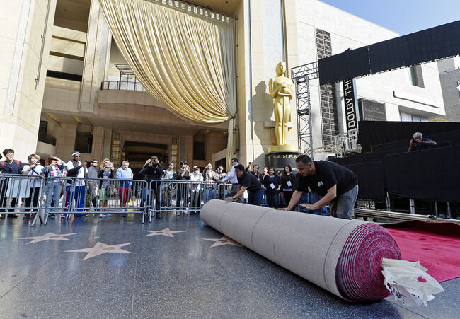 87th Annual Academy Awards - Red Carpet Installation Photo Op