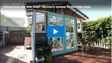 Kayla Hanley - Forget the Man Cave the She Sheds Are The Place To Be