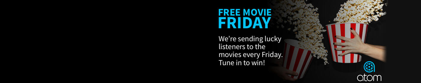 Click here for your keyword to text and win free movie passes from Atom Tickets!