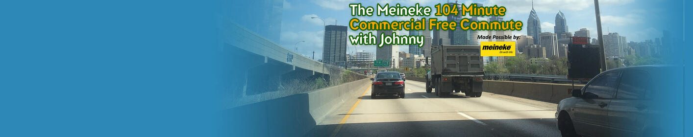 The Meineke 104 Minute Commercial Free Commute with Johnny