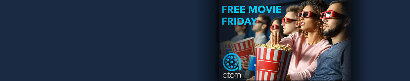 Free Movie Friday with ATOM TICKETS: Enter to win!