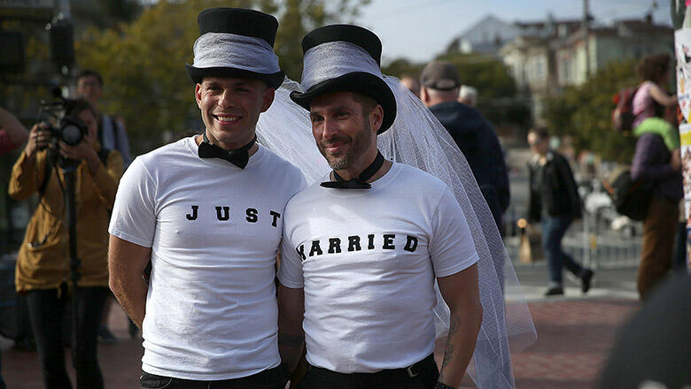 Offering benefits to same sex partners