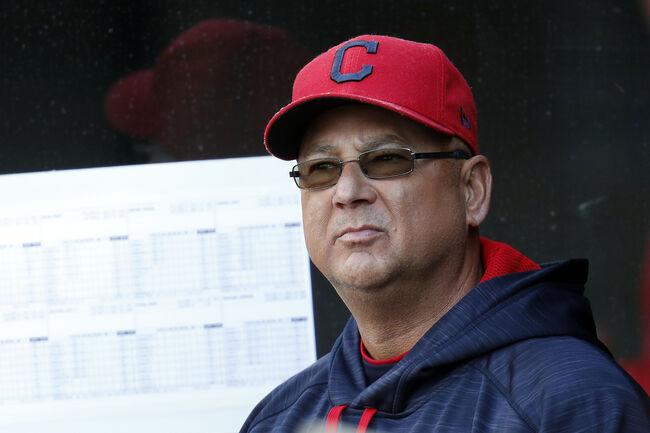 Terry Francona has two aces and three 5s. That's a good poker hand, but a lousy starting rotation