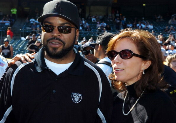 Amy Trask And Ice Cube