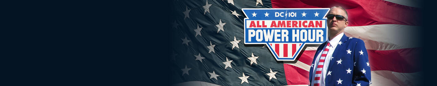 THE ALL-AMERICAN POWER HOUR. Weekdays at Noon with Mike Jones.
