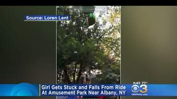 Rucker - Crowd Catches Girl That Fell From A Six Flag Ride