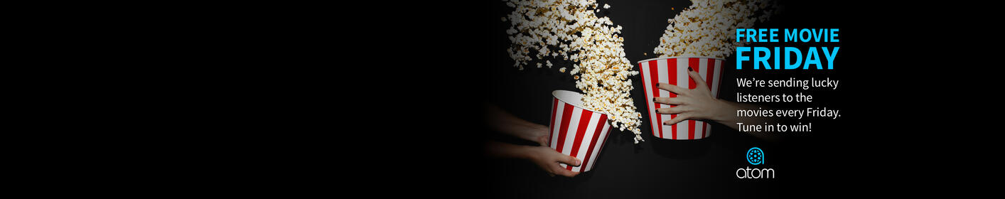 Win Movie Tickets Every Friday In 2017!