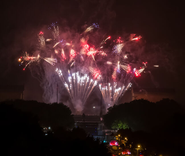 Philadelphia Independence Day Fireworks Celebration