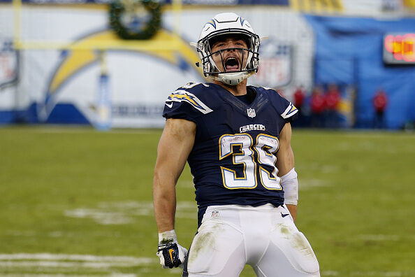 Former Charger Danny Woodhead