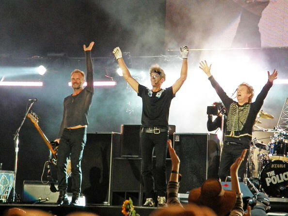The Police Perform In Hyde Park In London