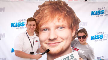 1075 KISS FM - Check This Out - PHOTOS: Ed Sheeran Pre-Party