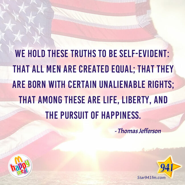 Feel Good Quote of the Day - July 4