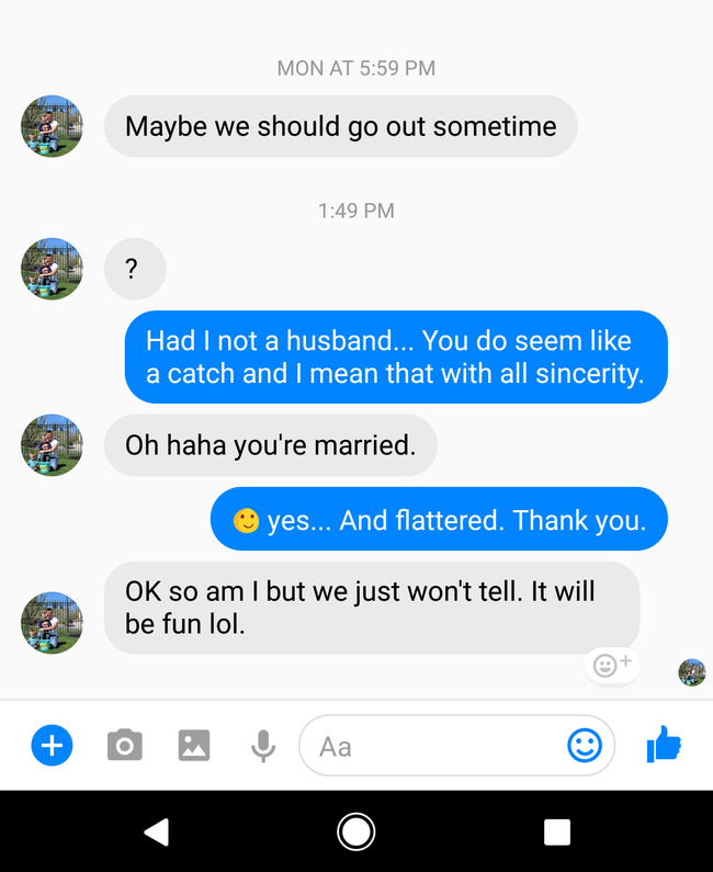 Cheating Man Gets Epically Owned When He Hits On Married