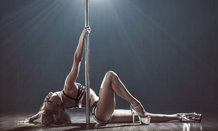 DJ Shante - Pole Dancing Might Actually Become An Olympic Sport!