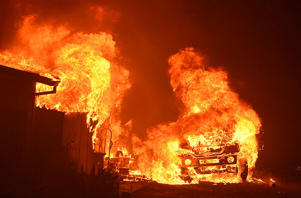 California wildfire help is now available to small businesses.