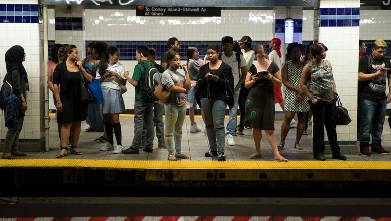 Fresh Paint & Subways During Rush Hour Don't Mix